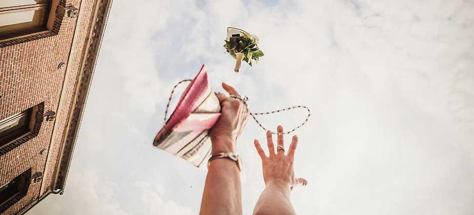 photographe bouquet mariée